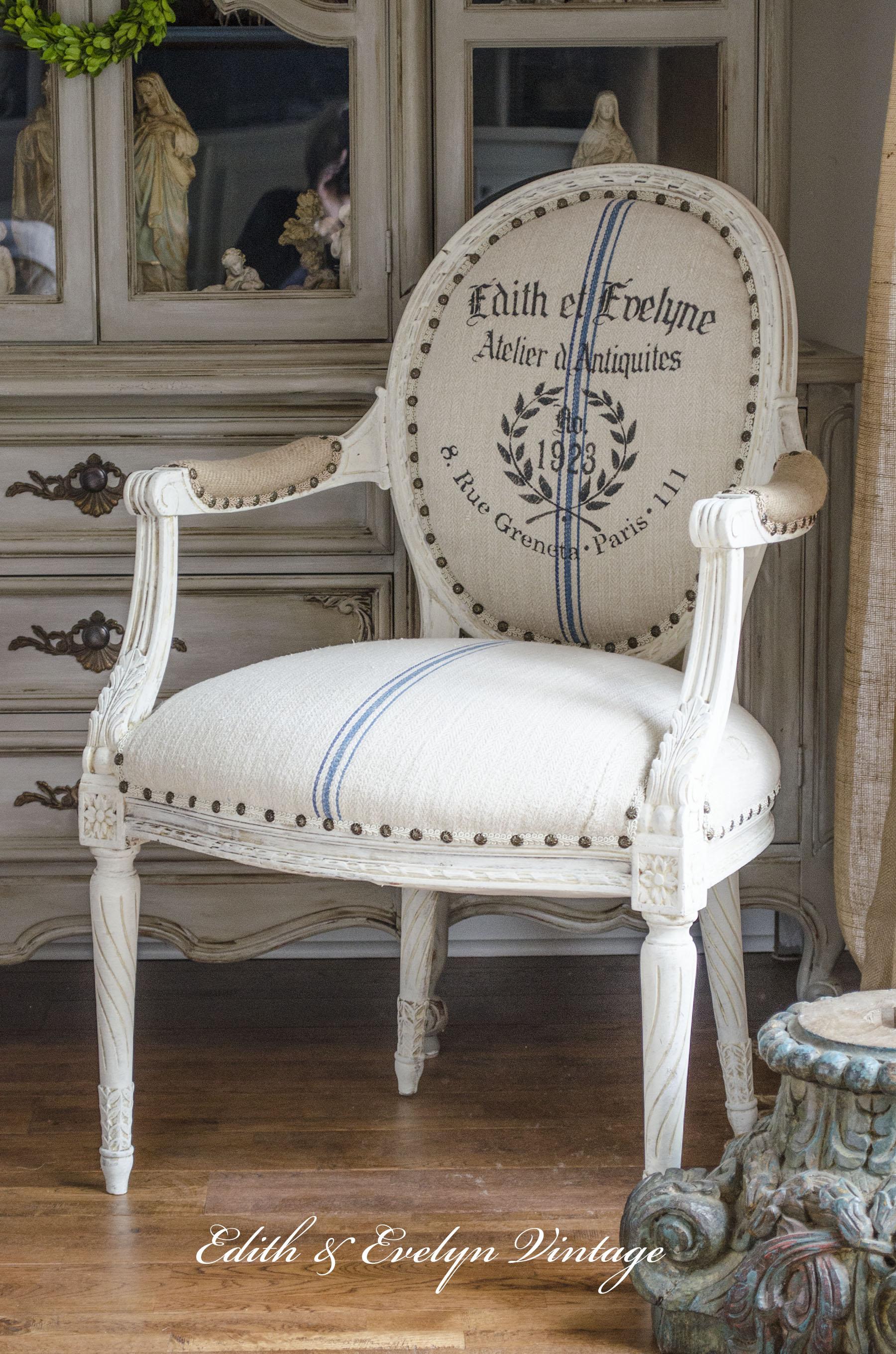 Grain Sack Painted Furniture