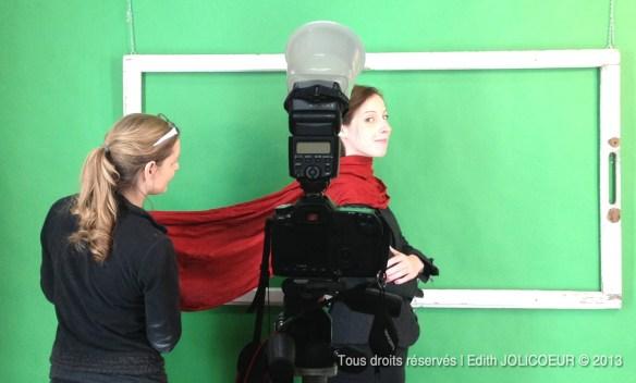 Edith JOLICOEUR [PAYSAGES & SAISONS CHARNIÈRES] Shooting avec Marie-Lyne