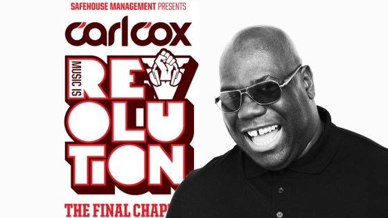 carl cox music is revolution EDMred