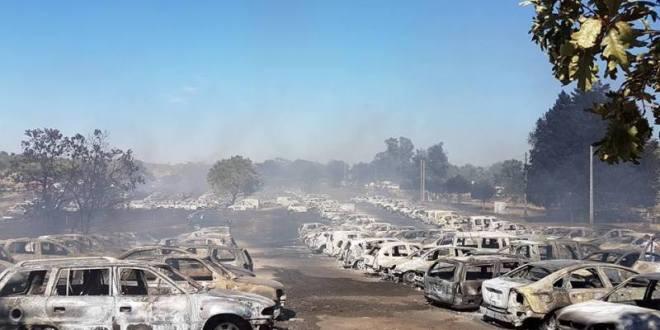 incendio coches festival andancas EDMred