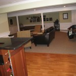 Nini Resident Finished Basement - View from Bar