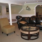 Nini Resident Finished Basement - Living Area