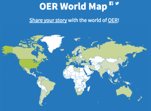 OER World Map