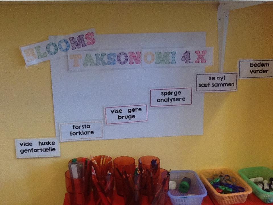 Blooms taksonomi i folkeskolen
