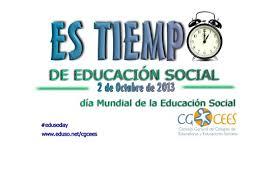 Es tiempo de educación social