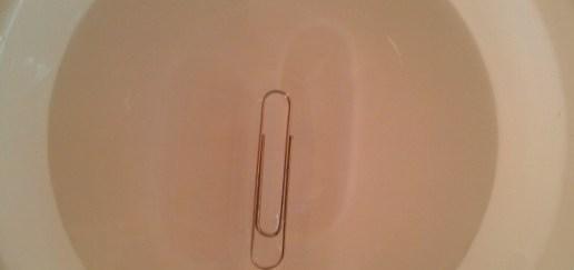 thumbnail tension superficial del agua clip que flota