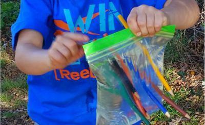 thumbnail experimento atravesar bolsa de agua con lapices
