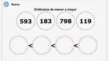 ordenar-numeros-de-menor-a-mayor