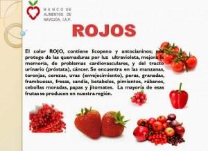 frutasdecolorrojodeli