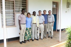 The ETI team worked many hours with Brighton Katabaro and the General Secretary on the program for KARUCO.