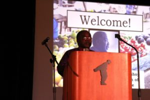 Bishop Bagonza thanks ETI