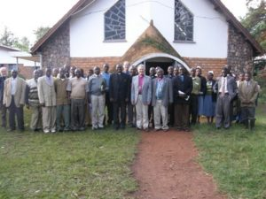 Swedish Team in Karagwe by Cathedral