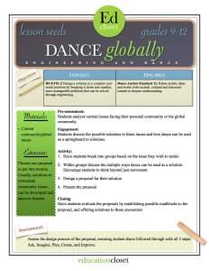 dance globally