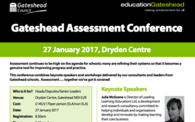 Gateshead Assessment Conference – 27 January 2017