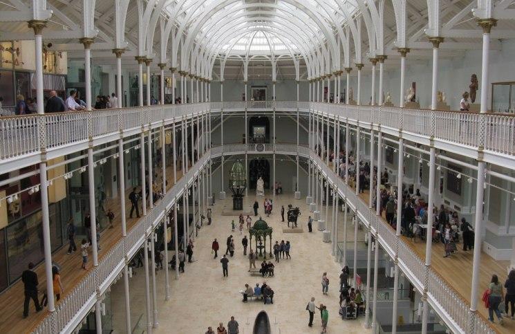 Image of the National Museum of Scotland, copyright M J Richardson