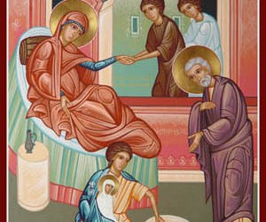 September 8, 2016 Nativity of our Most Holy Lady, the Mother of God and Ever-Virgin Mary