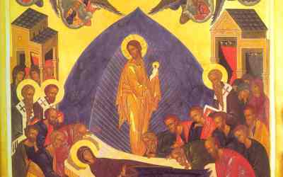 August 15, 2016;The Dormition of the Most Holy Lady, the Theotokos and Ever-Virgin Mary
