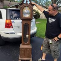 Haunted Grandfather Clock Prop WIP