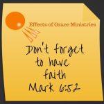 My Weak Faith:  I Often Gain No Insight