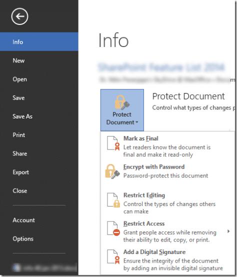 document protection - Dr. Nitin Paranjape