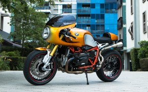 Custom designed BMW motorbike from BikeBiz is the business