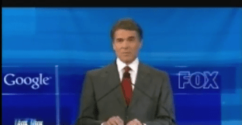 Rick Perry – Texas Again Unleashes Another Bumbling Idiot