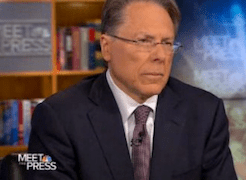 NRA's LaPierre Frustrates Meet The Press' David Gregory  With Dismissive Answers (VIDEO)