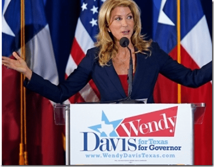 Wendy Davis Turn Texas Blue