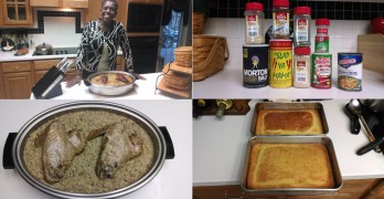 Linda Willies' Cornbread Dressing (Cornbread Stuffing) (VIDEO)