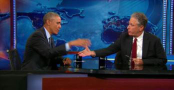 President Obama gives nation an important message on Jon Stewart (VIDEO)