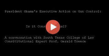 Is President Obama's Gun Control Executive Action Constitutional? (VIDEO)