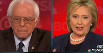 This exchange won the Democratic Debate for Bernie Sanders (VIDEO)