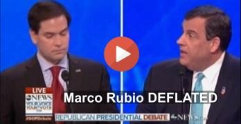 Chris Christie deflates surging GOP establishment's wonder child Marco Rubio in GOP Debate (VIDEO)