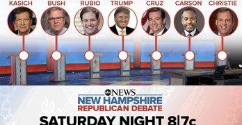 Live blogging the ABC Republican Debate