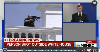 Man attempting to enter White House with a gun shot (VIDEO)