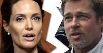 Presidential election on hold? Angelina Jolie & Brad Pitt are divorcing (VIDEO)