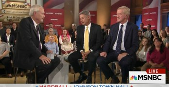 Libertarian Presidential Candidate Gary Johnson has another Aleppo moment (VIDEO)