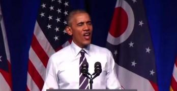 Obama full speech in Columbus Ohio supporting Clinton & Strickland (VIDEO & TRANSCRIPT)