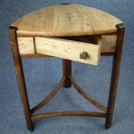Urban Elm Trillium TAble with spin drawer