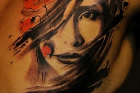 awesome portrait tattoo designs1 550x674