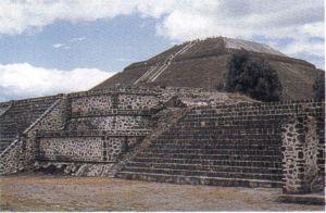 Piramida Soarelui Teotihuacan Sec. III