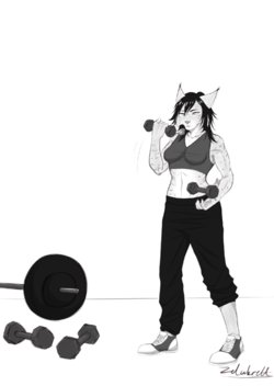 female muscle growth story