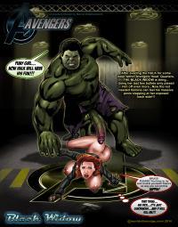 black widow hulk hentai