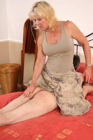 women spanking their men