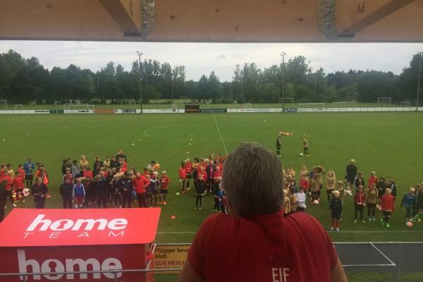 Nike Football Academy i Espergærde