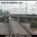 It's flooding down in Texas …