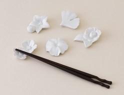 四季の花箸置_集合_e-35