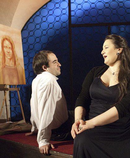 Tosca in der Krypta Photo: Jessica Shimizu