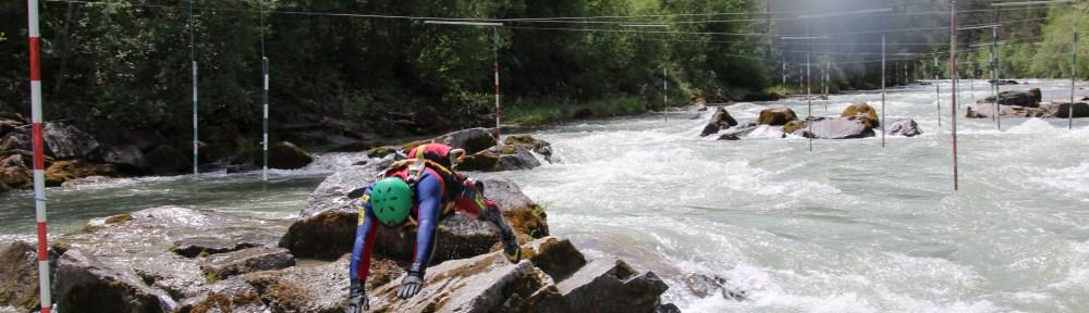 Beherzter Sprung ins Wildwasser, einfachmalraus.net