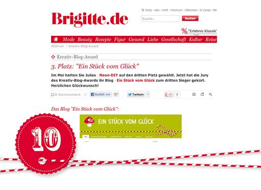 brigitte kreativ blogaward